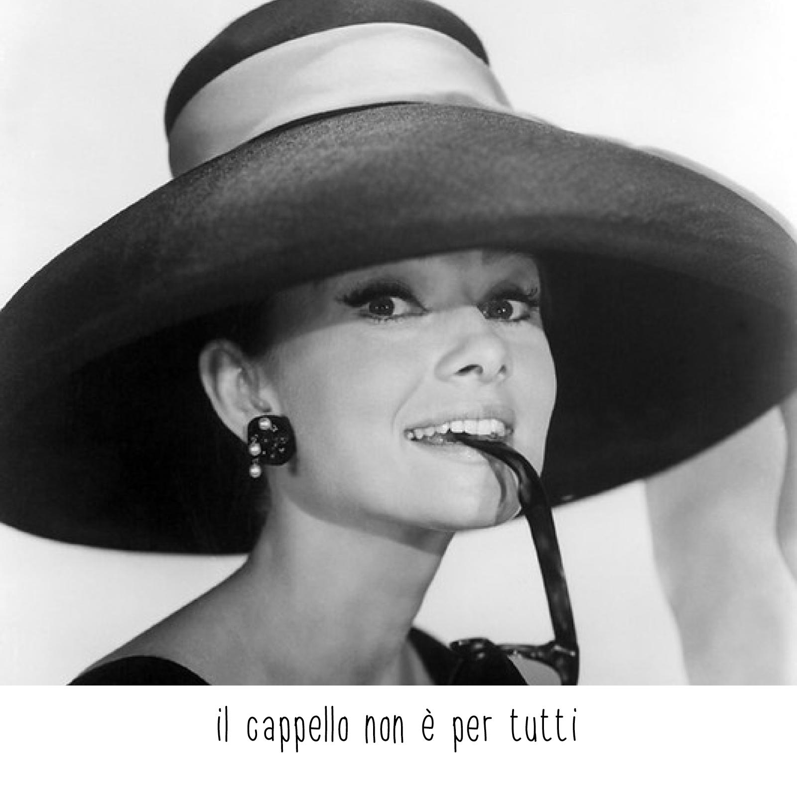 il cappello non è per tutti